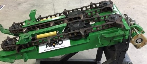Close-up image of ARRO® machinery.
