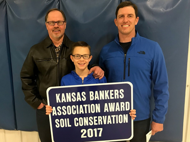 Kansas Bankers Soil Conservation Award 2017